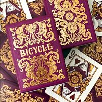 Bicycle Majesty Purple Deck  🔥  BRAND NEW Playing Cards