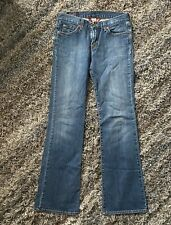 "Womens Lucky Brand Jeans Size 4/27 Sweet N Low Bootcut 32"" Inseam 81LR074"
