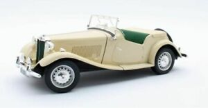 CULT MODELS MG TD CREAM 1953 1-18 SCALE CML094-2
