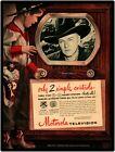 Hopalong Cassidy in Vtg Motorola TV Ad w Little Boy: 9 x 12 Repro Aluminum Sign