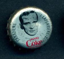 1964 65 COCA-COLA COKE BOTTLE CAP W/ Jacques LaPerriere CORK MONTREAL CANADIENS
