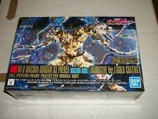 Bandai HG 1/144  RX-0 UNICORN GUNDAM 03 PHENEX (UNICORN MODE) Gold Model Kit NEW