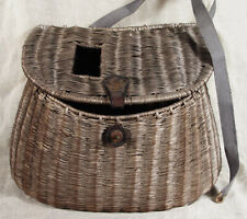 Antique Vintage Fishing Tajima Basket Japan