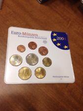 Coin Set Of Germany 2004 J. Hamburgissche Munger. Euro
