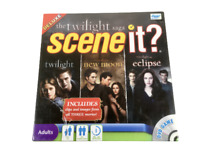 NEW & SEALED The Twilight Saga - Scene It? Deluxe DVD Edition Family Board Game