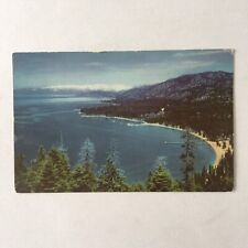 Lake Tahoe California Unposted Postcard