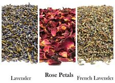 Dried Rose Petals & Lavender Flowers for Home Fragrance Sachet Crafts Decoration