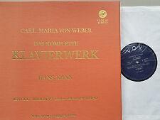 Weber completa Pianoforte fabbrica CPL. piano works Hans può 6 LP BOX VOX VXDS 107 NM