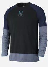 New Nike Element Men's Sz 2Xl Dri-Fit Long Sleeve Colorblock Running Top Aj7617