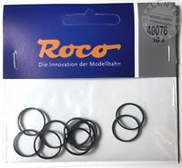 ricambi H0: ROCO 40076 anelli di aderenza 15,4-17,5 mm (conf. 10 pz)