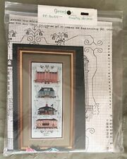 "New Unopened ""Ocean City Elegance"" Cross Stitch Kit featuring historic landmarks"