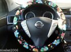 Hand Made Steering Wheel Covers Nerdy Owls 2