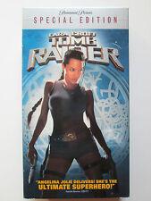 Lara Croft: Tomb Raider (VHS, 2002, Special Edition) Angelina Jolie (NTSC/US/CA)