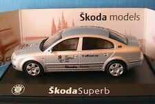 SKODA SUPERB 2.5 TDI BERLINE OFFICIAL CAR RUSSIA 2007 ABREX 143ABX003LA 1/43