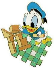 Disney Mall Babies Donald Duck with Blocks Pin
