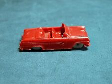 Vintage F& F Small Plastic Red Convertible