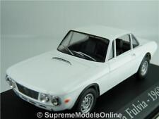 LANCIA FULVIA 1968 CAR MODEL 1/43RD SIZE WHITE CLASSIC ITALIAN TYPE Y0675J^*^