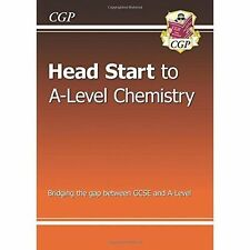 New Head Start to A-Level Chemistry by CGP Books (Paperback, 2015)