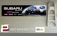 Subaru Impreza STi Banner for Workshop, Garage, Richard Burns, Colin McRae Rally