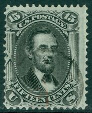 EDW1949SELL : USA 1868 Scott #98 Used. A Very Fresh stamp. PSAG Cert. Cat $275.