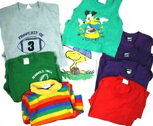Wholesale Lot 9 Vintage Kids Tops T Shirts Baby Toddler Boys Girls Mickey +