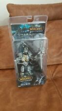 "7"" Arthas Menethil World of Warcraft Arthas Fall of The Lich King Figure In Box"