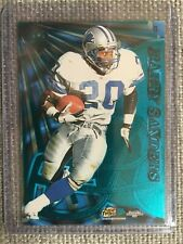 1997 Pacific Dynagon Prism Tandems Barry Sanders Terrell Davis #8