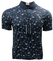 Original Penguin Pete On A Trip Graphic Golf Polo Shirt - RRP£69.99 - ALL Sizes