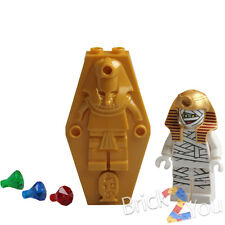 LEGO Paraoh Mummy Coffin Lid (Sarcophagus) Jewels 75900 Scooby-Doo Mummy Museum