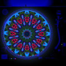 Dj Turntable Slipmat 12 inch Glow under Blacklight - Monster Gremlin