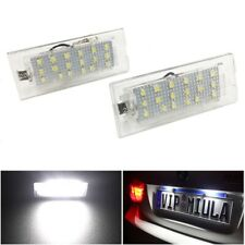 FOR  BMW E53 X5 E83 X3 A PAIR NEW 18 LED WATERPROOF NUMBER PLATE LIGHT LAMP