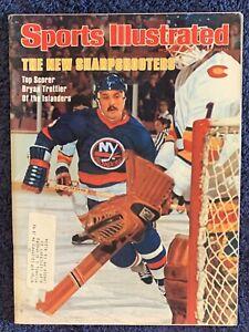 12.12.1977 BRYAN TROTTIER Sports Illustrated NEW YORK ISLANDERS