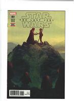 Star Wars The Last Jedi #1 NM- 9.2 Marvel Comics 2018 Kylo Ren, Rey & Luke