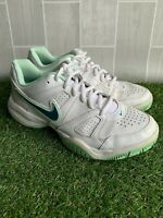 City court ladies sport trainers White leather size UK5 Tennis shoes