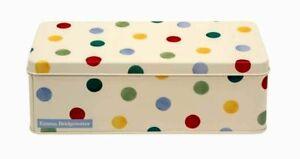 Emma Bridgewater Polka Dots / Spot - Cracker / Biscuit - Tin New Design