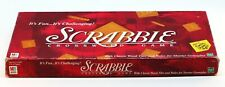 Scrabble Crossword Game  Classic Wood Tiles Complete Set 2-4 Players Age 8+ Used