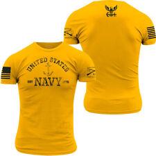 Grunt Style USN - Est. 1775 T-Shirt - Gold