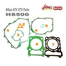 3 HISUN ATV UTV Parts Full Set Gasket  HS400 HS500 HS700 HS800