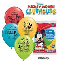 "12"" Disney Mickey Mouse Latex Helium Balloons Happy Birthday Party Qualatex"