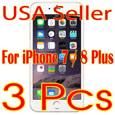 3x Screen Protector Lcd Guard Saver Film for iPhone 7/8 Plus