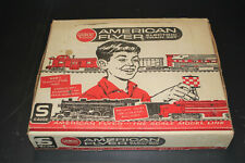Gilbert/ American Flyer Train Set #20705 - Steam Locomotive & 3 Freight Cars
