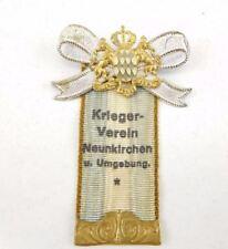 GERMAN WARRIOR SERVICE ASSOCIATION MEDAL, KRIEGER-VEREIN NEUNKIRCHEN U. UMGEBUNG