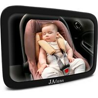 Baby Car Mirror Rear Facing for Backseat 360 Degree Rotation  Baby View New