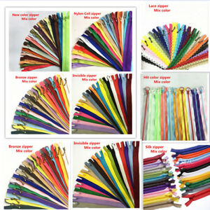 A Variety Of Specifications And Multiple Attributes The Zipper Mix Color 50pcs