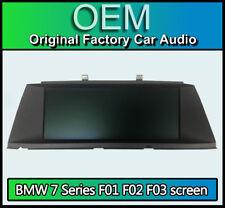 """BMW 7 Series Sat Nav display screen, BMW F01 F02 F03, L6 CID 10"""" LL I450"""