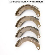 """1953 1954 DODGE TRUCK BRAND NEW FRONT AND REAR SHOES 11"""" DIAMETER FRONT AND REAR"""