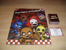 154 IMAGES NEUVES FIVE NIGHTS AT FREDDY ' S + ALBUM VIDE NEUF EN ANGLAIS