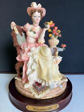 Cassinelli porcelain details of very fine finish 8.5� Tall Very Good