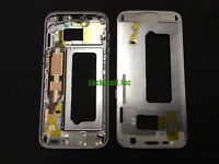 Black Middle Frame Housing Bezel Mid Chassis Replacement For Samsung Galaxy S7