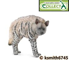 CollectA STRIPED HYENA solid plastic toy wild zoo animal scavenger * NEW * 💥